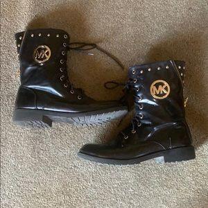 Michael Kors combat boots!
